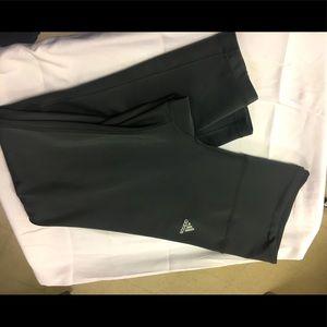 Adidas Climalite Black Crop Leggings athletic wear